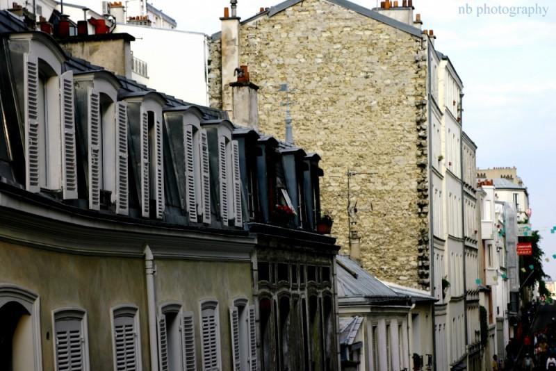 Fenêtres à Montmartre