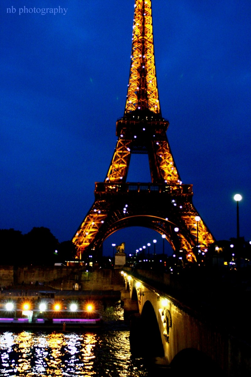 paris france eiffel tower tour bateau mouche seine