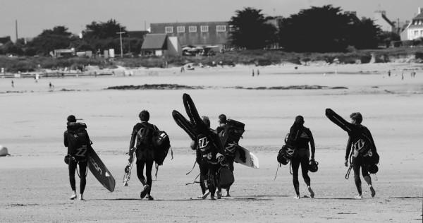 Surf Pointe de la Torche Aout 2007