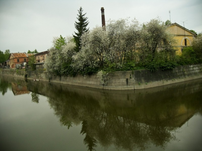 view of Kronschtadt channel