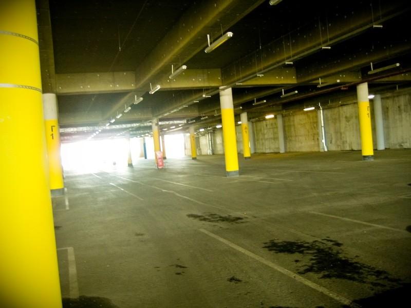underground garage of ikea