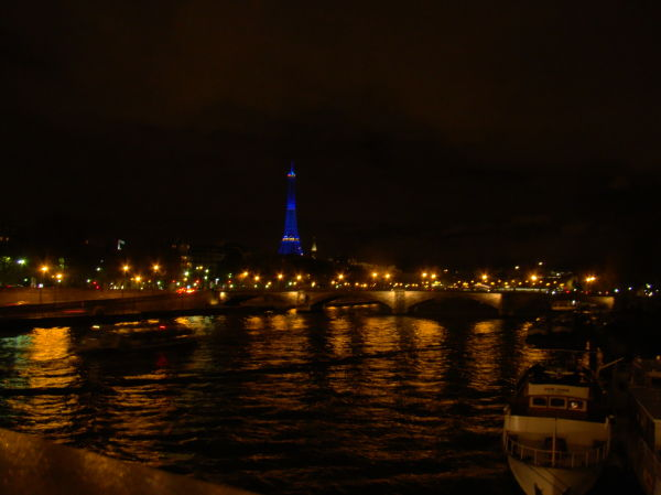 The blue torre