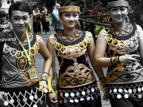Ethnic in Borneo.