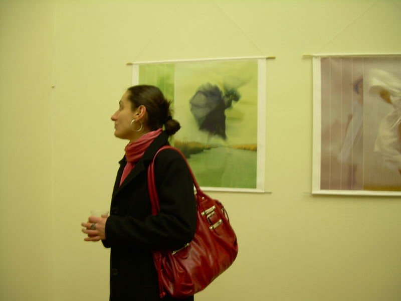 Le femme et le portrait