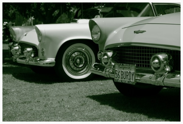 photos from the Classic Car Show