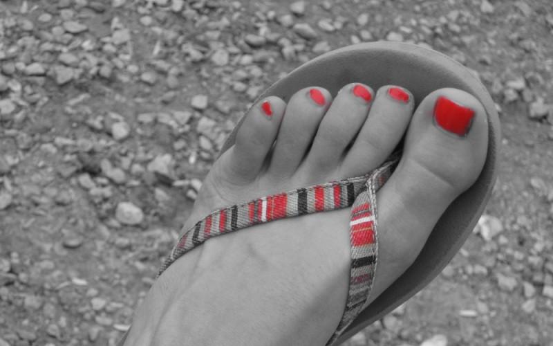 My Sister's Foot