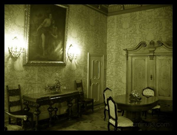 romantic room in polish castle