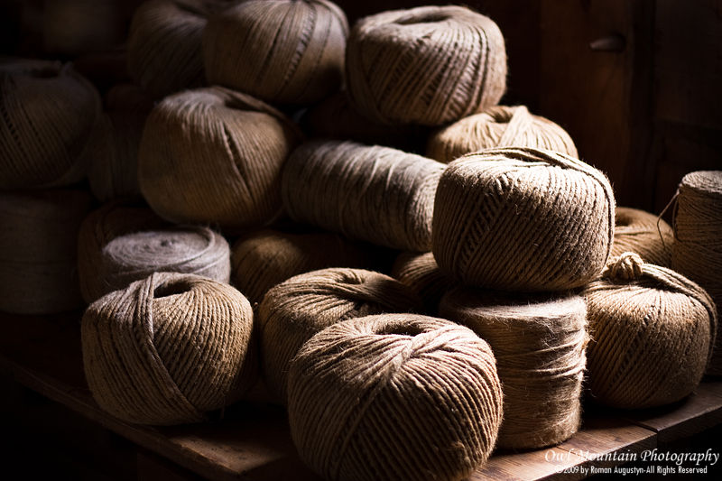 balls of yarn in canada first settlers fort