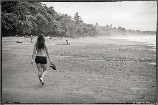 tropical beaches of Costa Rica