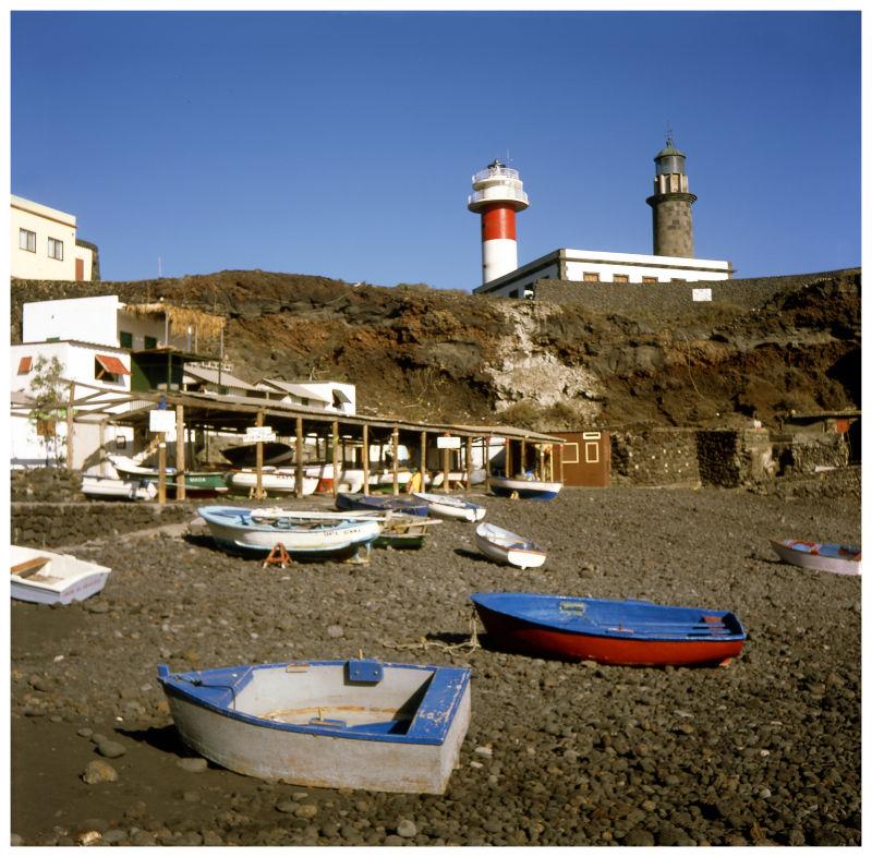 Faros y playa de Fuencaliente