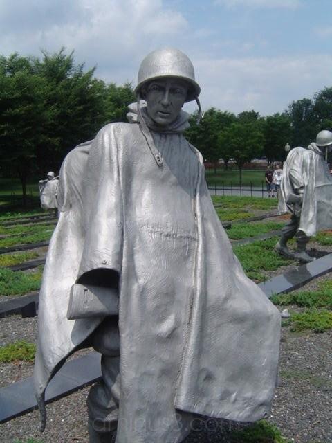 Statues from Korean War