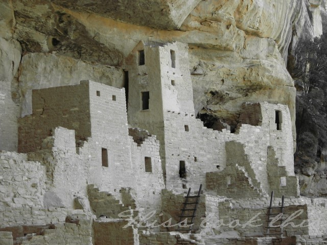 Mesa Verde Cliff Dwellings...