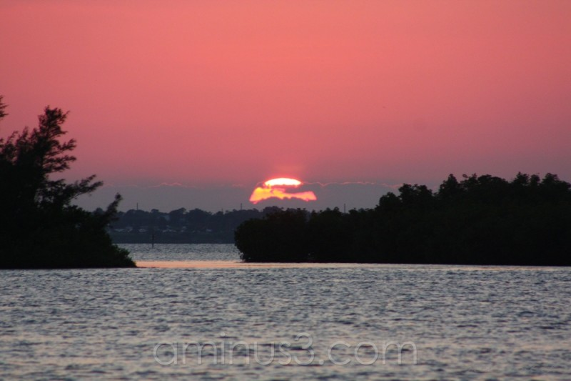 Sunset over Indian River