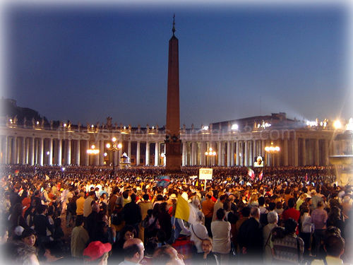 Mass with Pope Benedict XVI