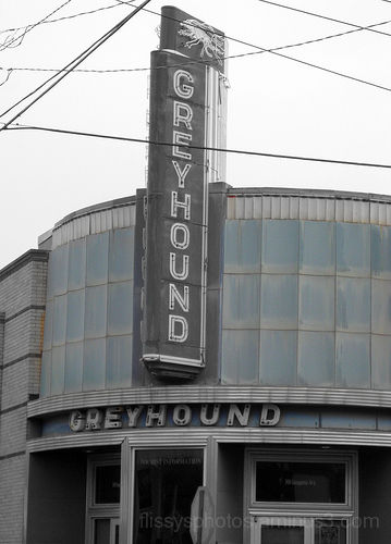Greyhound Bus Depot