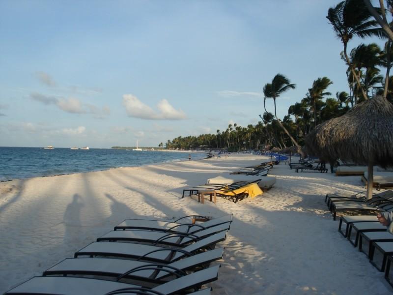 evening on the beach, punta cana, D.R.