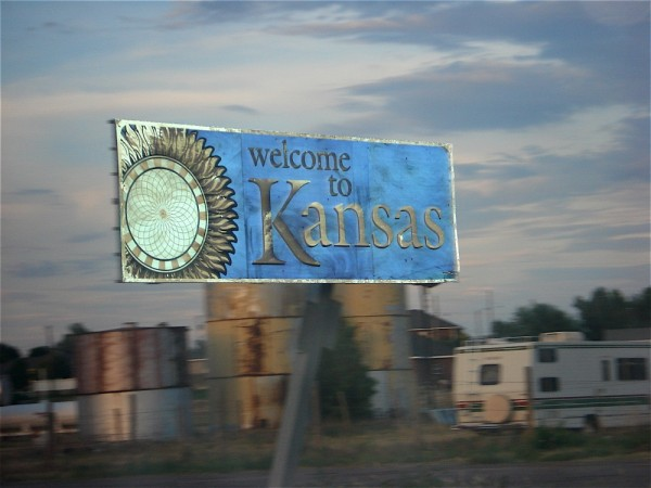 crossing the kansas line