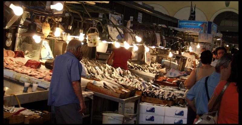 Fish Bazar in Athens