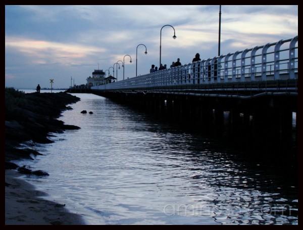 An evening at the pier