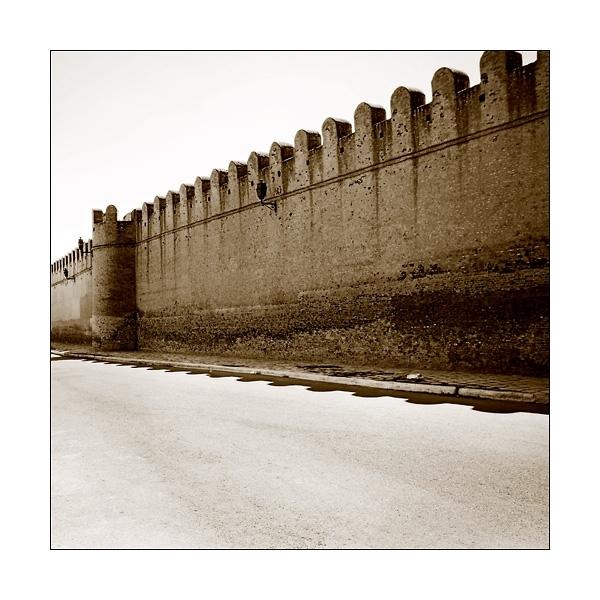 medina wall kerouan