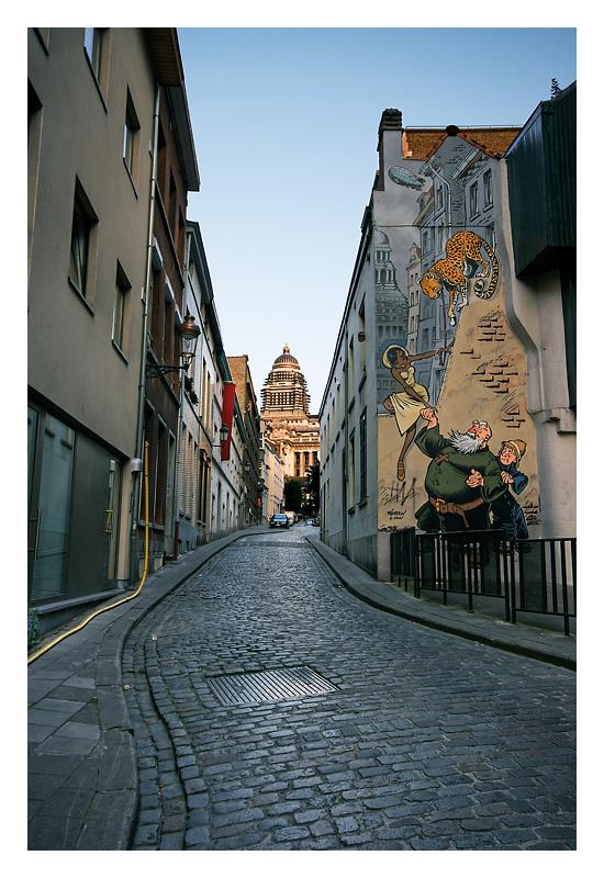 Kapucijnenstraat / rue des Capucins, Brussels