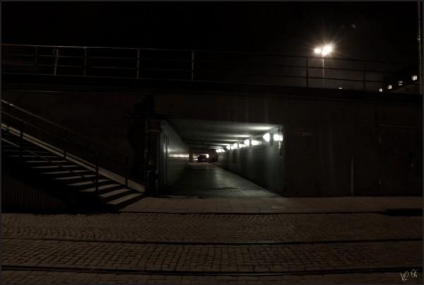 Tunnel at Slussen