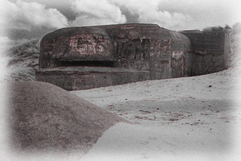 Le mur de Bray-Dunes