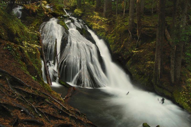 Little Zigzag Falls, mt hood area, oregon