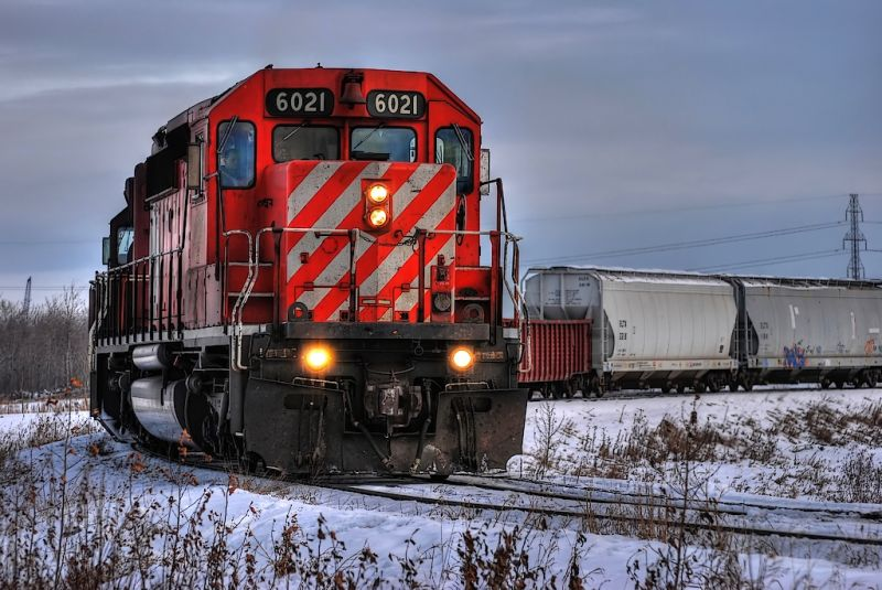 Canadian Pacific Railway 6021