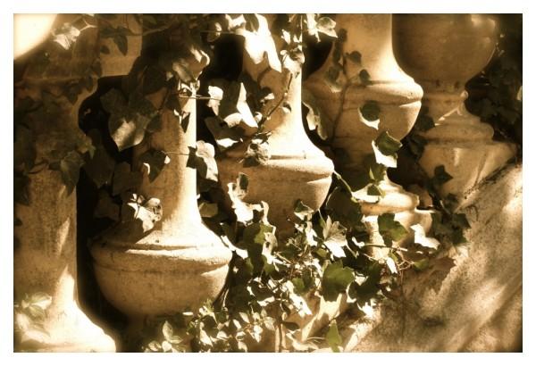 Old Barcelona handrail