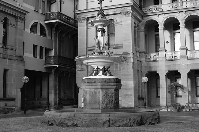 Sydney Hospital Courtyard