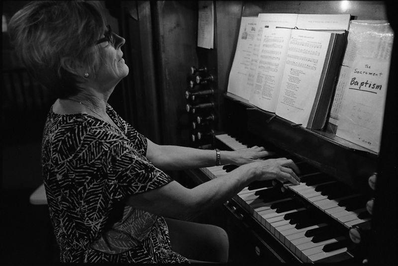 Janice the organist