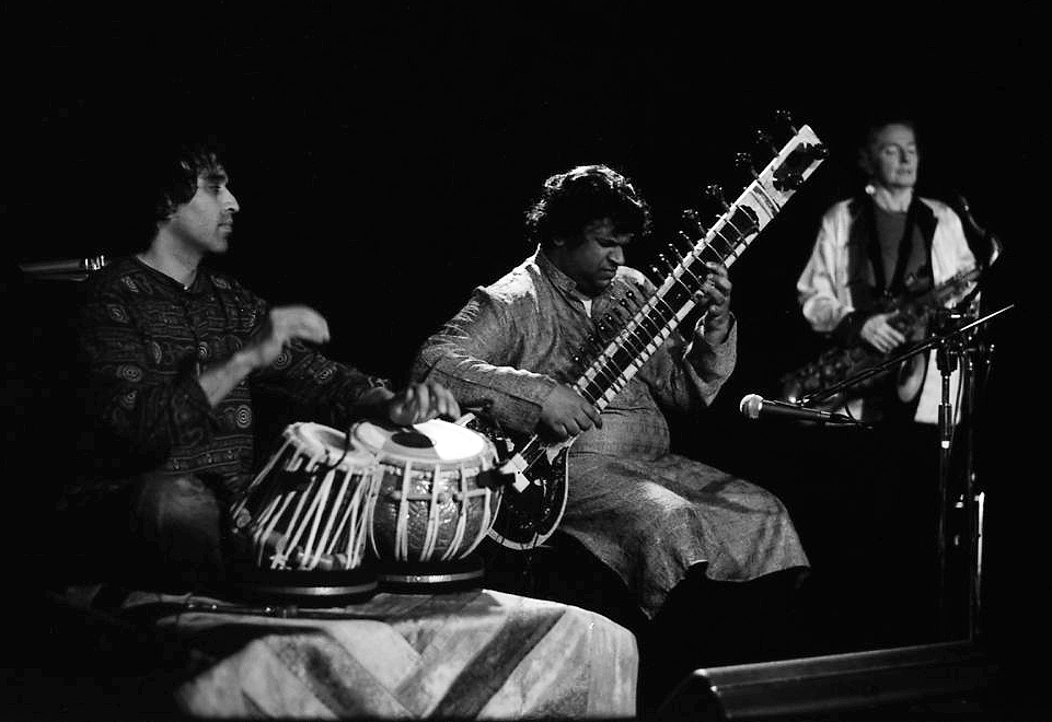 Sandy Evans Trio with Sarangan Sriranganathan and