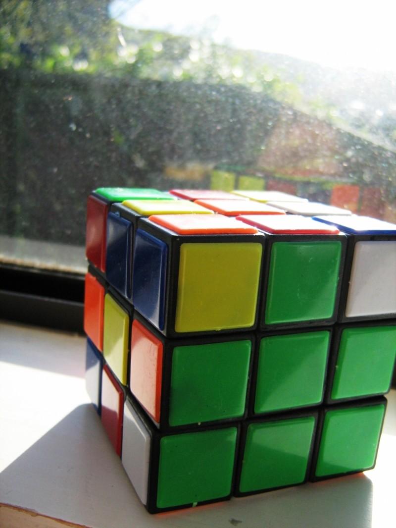 Rubik's Cube (slash fake Rubik's Cube)