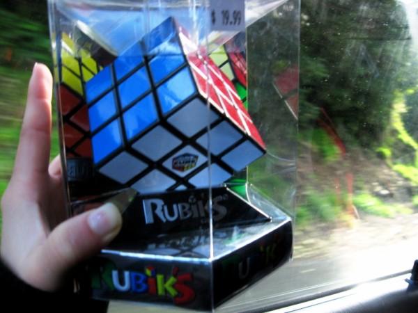 Real Live Rubik's Cube