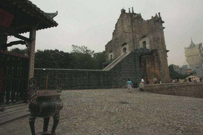 three landmarks of Macau