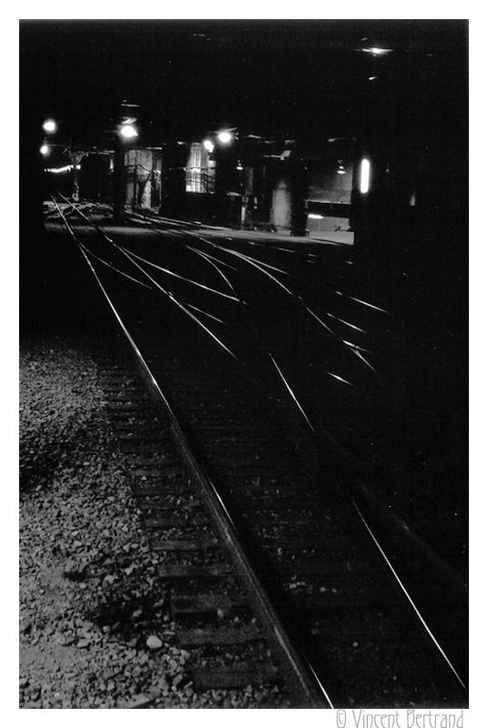 Rail noir (étude)