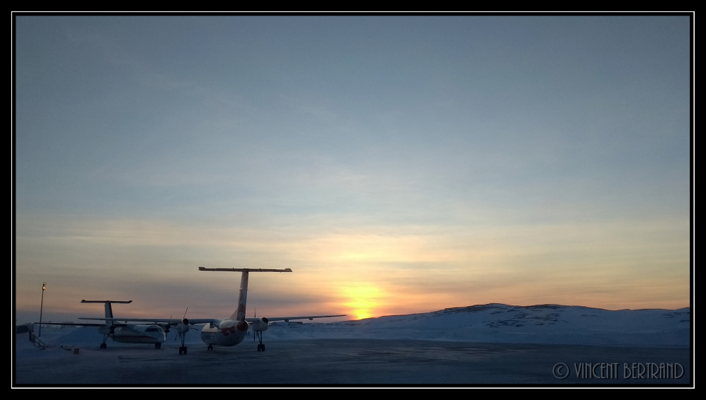 Inukjuak sunset