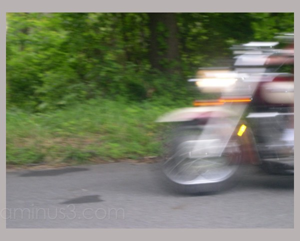 Macho Motorcyle Man