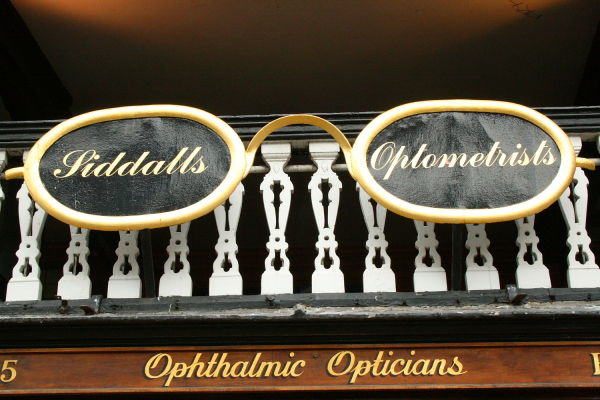 golden glasses