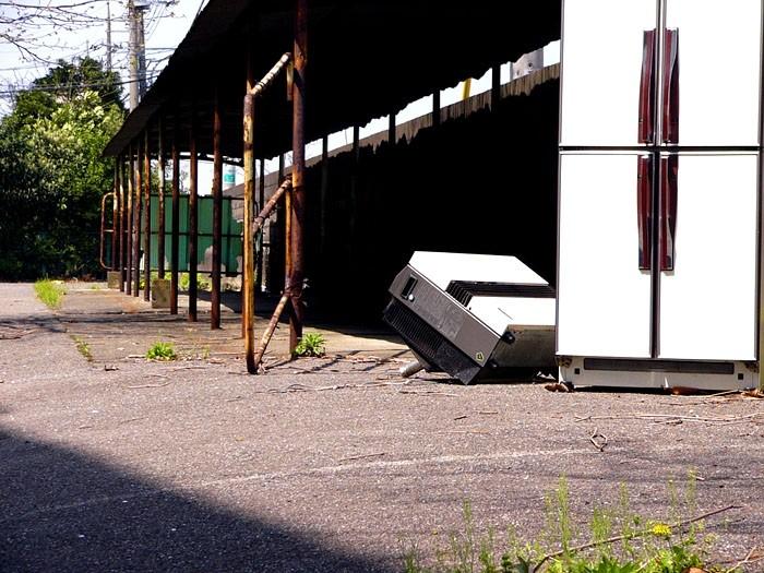 Abandoned appliances
