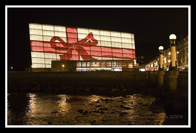 El Kursaal (San Sebastán) , navidad 2007