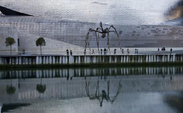 """Louse Borgeois, """"La mère"""" Guggenheim Bilbao"""