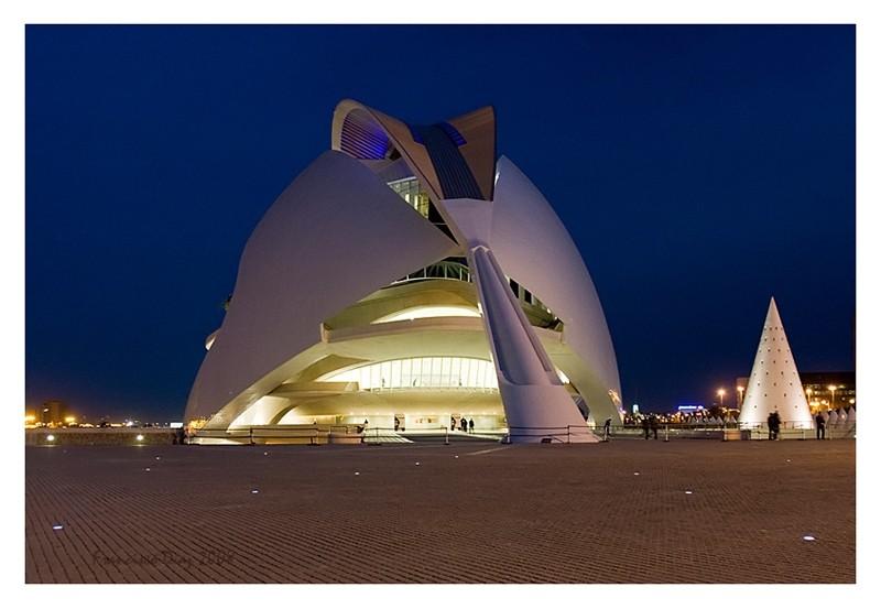 Opera de Valencia, Santiago Calatrava