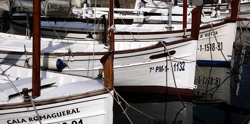 Unas barcas