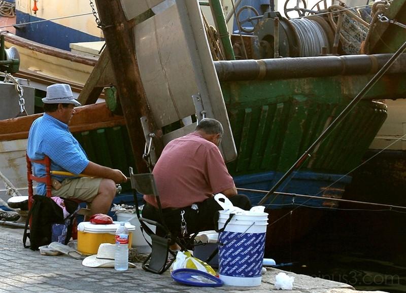 Pescando en Andratx