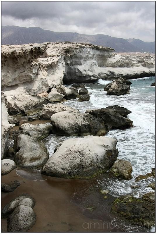 Playa de los Escullos, en el Cabo de Gata, Almería