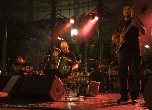 El concierto de Korrontzi en San Sebastián