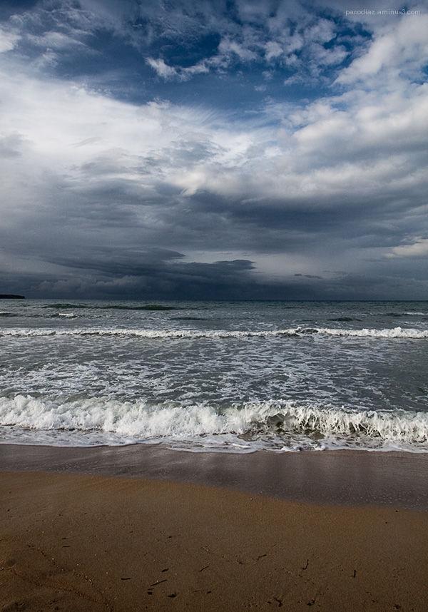 Spring in Palma beach