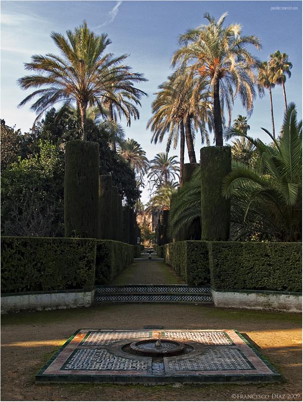 Sevilla, jardines del Alcázar